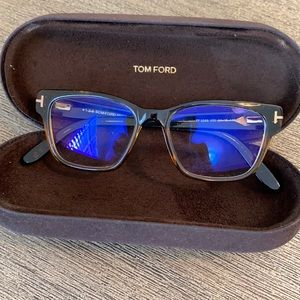 Tom Ford prescription glasses.